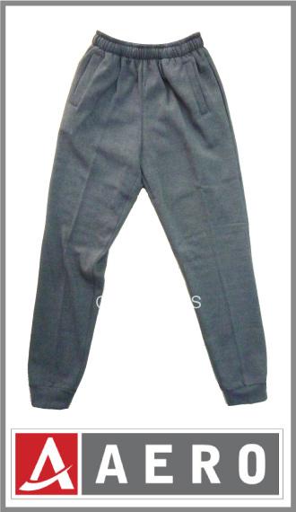 Pantalon friza Aero p/hombre, corte chupin c/puños en las pierna t 1/4