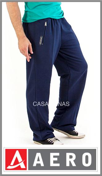 Pantalon frizado Aero para hombre, bolsillo con cierre talles 1/4