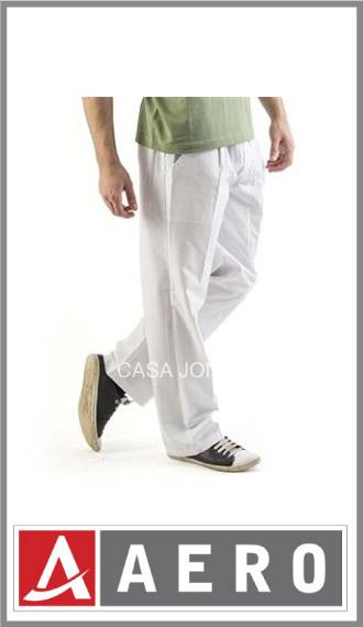 Pantalón náutico acrocel blanco Aero talles 1/4