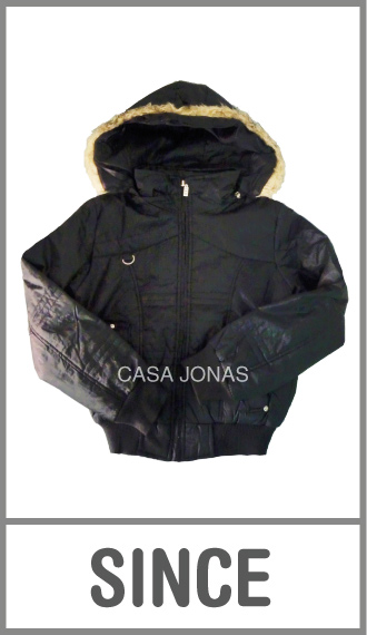 Campera de invierno Since para mujer cintura elastizada en talles L/XL