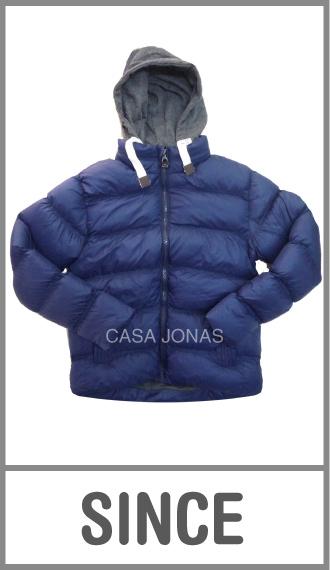 Campera invierno Since inflada forrada interior de hombre talles S/M