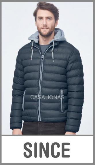Campera de invierno para hombre Premium, a bastones en talles S/M