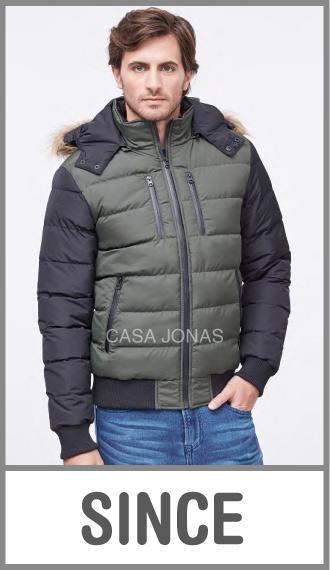 Campera de invierno para hombre Premium inflada cirres sellados S/M