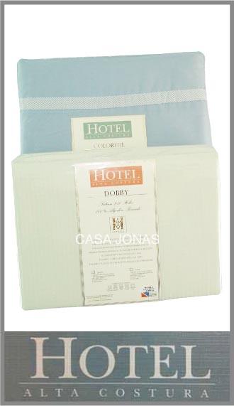 Juego de sabanas 100% algodon Cacharel línea Hotel medida Queen