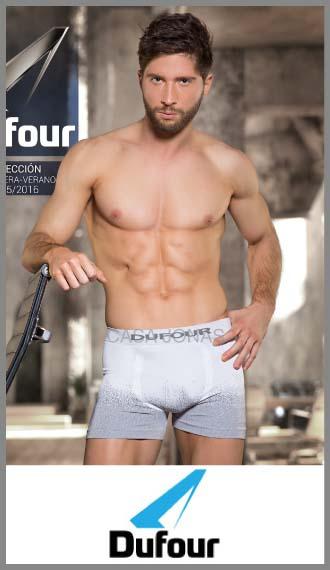 Boxer sin costuras degrade en para hombre Dufour S/XXL