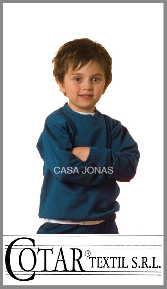 Buzo rústico azul colegial Cotar talles 12/16
