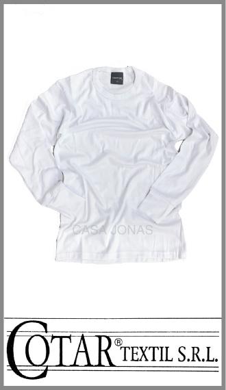Camiseta térmica alg/polietser manga larga cuello redondo Cotar t 48