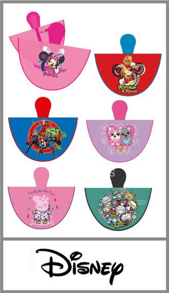 Capa plástica para chicos de Personajes Surtidos