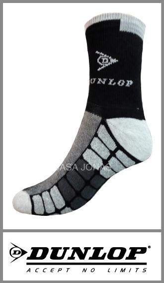 Zoquete media caña Dunlop deportivo con logo para hombre