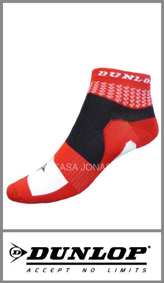 Zoquete invisible al tobillo Dunlop puño doble y con guarda p/hombre