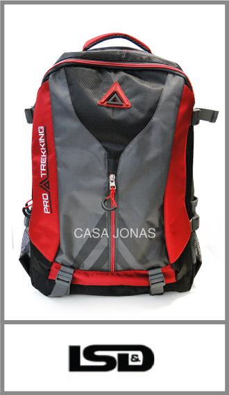 Mochila de espalda Lsd Pro Trekking Outdoor medidas 53cm x 31cm x 20cm