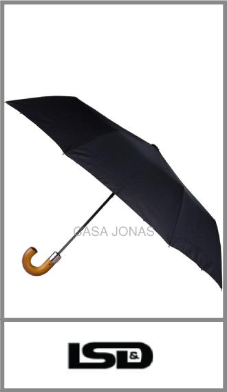 Paraguas tamaño medio Pierre Cardin mango de madera
