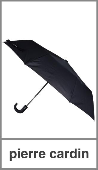 Paraguas tamaño medio Pierre Cardin mango engomado
