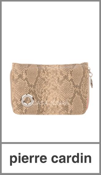 Billetera Pierre Cardin para mujer medidas 14cm x 10cm x 2cm
