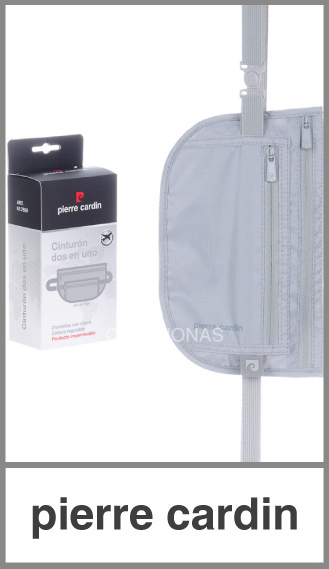 Porta Valores doble impermeable Pierre Cardin