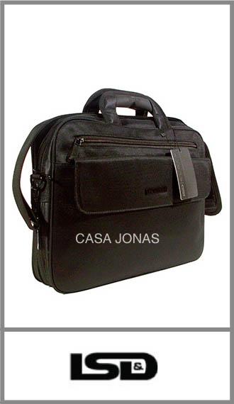 Portafolio Black tamaño oficio con fuelle Lsd medida 40cm x 30cm x 12cm
