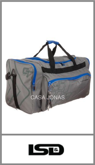 Bolso de viaje Lsd  con 4 bolsillos, medida 75cm x 33cm x 36cm