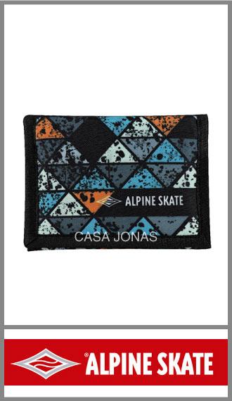 Billetera náutica Alpine Skate para hombre