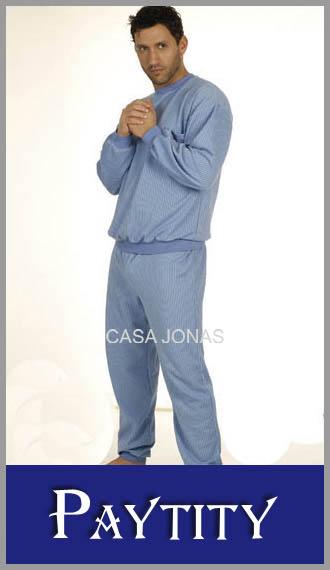 Pijama jacquard pesado Paytity talles 56/60