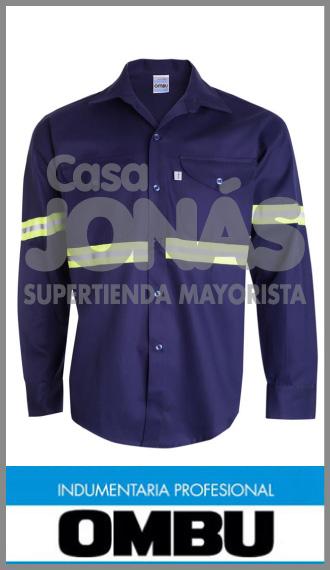 Camisa m larga Ombú con reflectivros ropa de trabajo t especiales 48/54