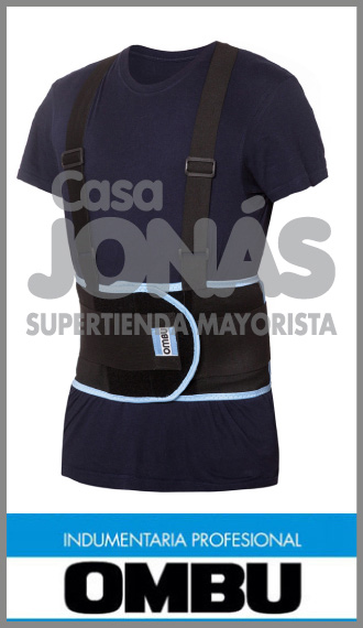 Faja lumbar Ombu, uso ideal para ropa de trabajo talles S/XXL