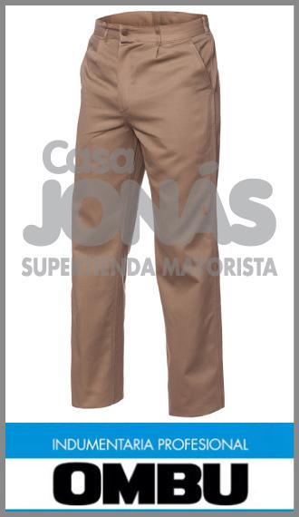 Pantalon Ombú ropa de trabajo talles 38 al 60