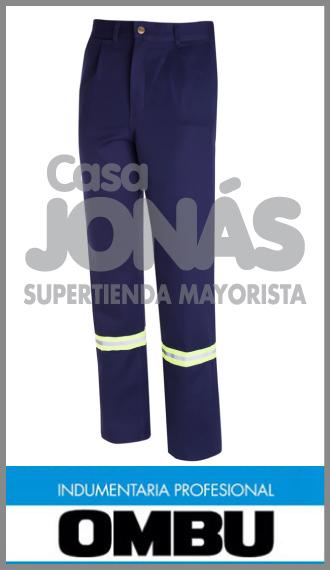 Pantalon Ombú con reflectivos ropa de trabajo talles 38 al 60