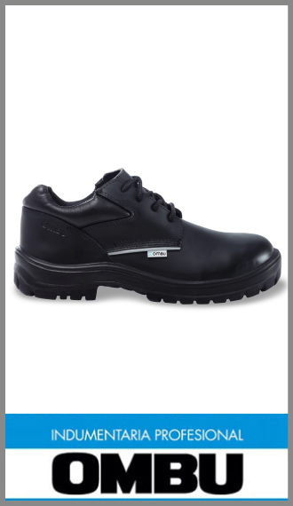 Zapato prusiano Ombu, calzado de seguridad con puntera de acero