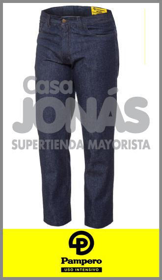 Jean clásico 12 onzas azul stone Pampero ropa de trabajo talles 48/54