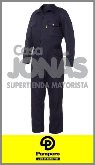 Mameluco Pampero azul marino, ropa de trabajo talles 50/60