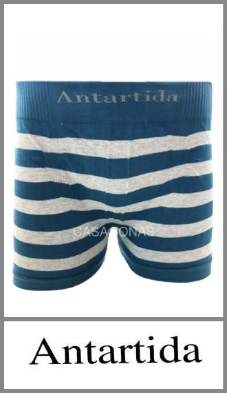 Boxer raya mediana Antártida seamles p/hbre en algodón s/costura S/XXXL