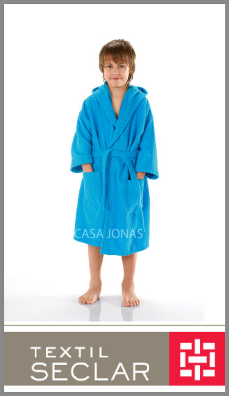Salida De Baño Ninos Moldes:Salida de baño de toalla para niño 100% algodon Seclar talles 6/14