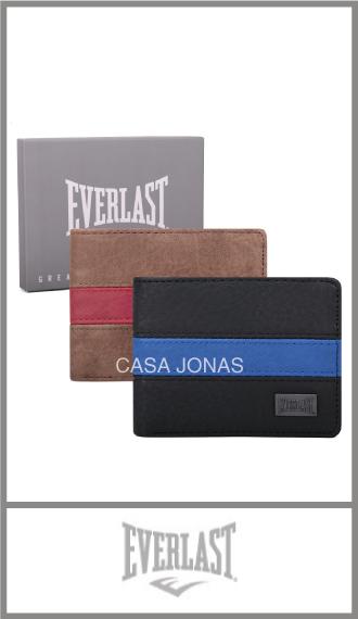 Billetera Everlast de Pu en caja para hombre