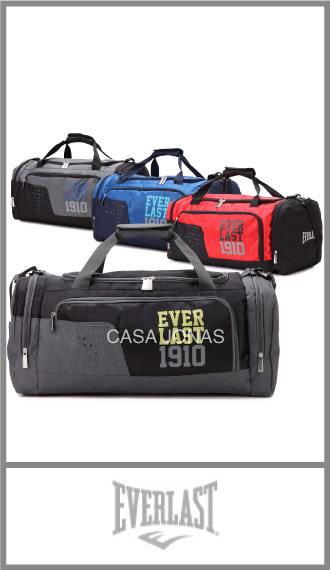 Bolso de viaje Everlast con 2 bolsillos, medida 50cm x 31cm x 28cm