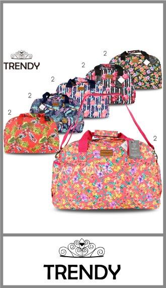 Bolso Trendy estampado de mujer medida 30cm x 45cm x 18cm