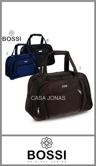 Bolso Bossi en nylon diferenciado, Medida: 50cm x 34cm x 20